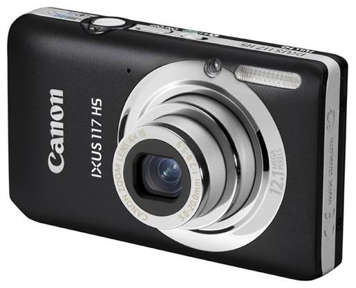 Фотоаппарат Canon Digital IXUS 117 HS