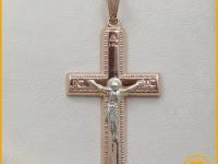 Б120 Крест Золото 585 (14K) вес 1.92 гр.