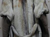 Шуба норка рыжая короткая, воротник чернобурка, рукова стриженые р-р46 №54