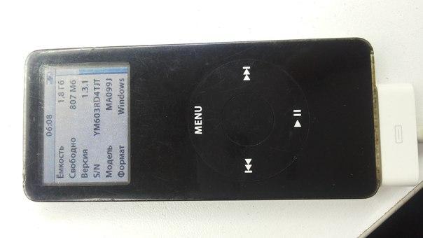 MP3-плеер Apple iPod nano 1 2Gb