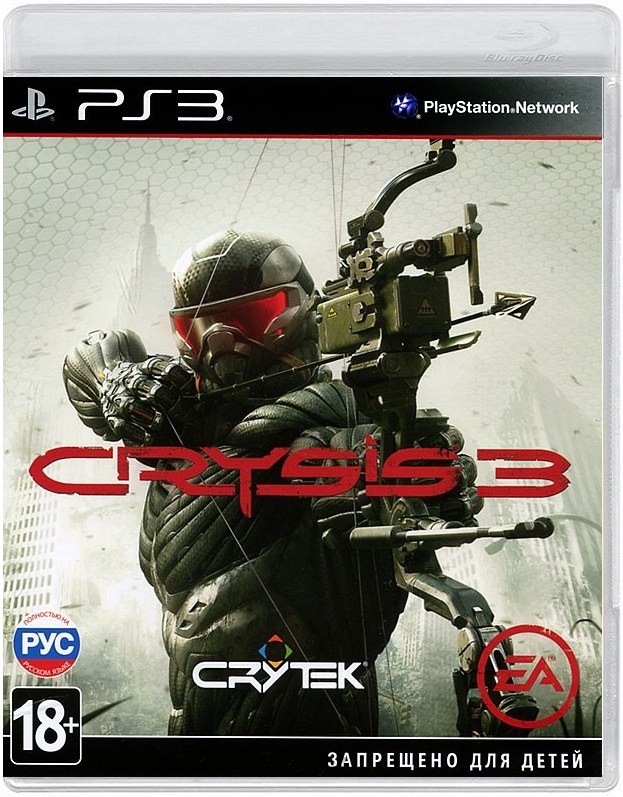 Диск PS3 Crysis 3