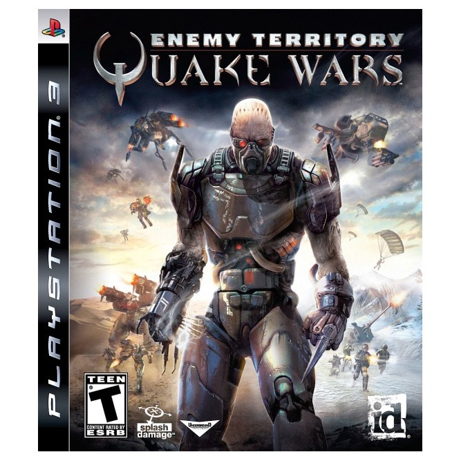 Диск PS3 Enemy Territory: QUAKE Wars