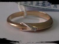 Кольцо Золото 585 (14K) вес 1.50 гр.