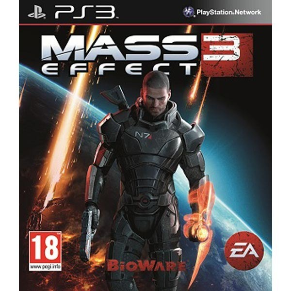 Диск PS3 Mass Effect 3