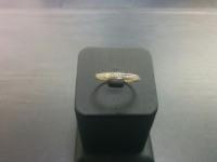 Кольцо Золото 585 с бр 3000 585 вес 0.92 г