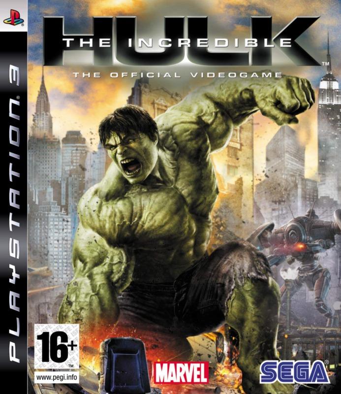 Диск PS 3 HULK The Incredible
