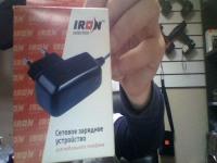 Зарядное устройство iron mini usb