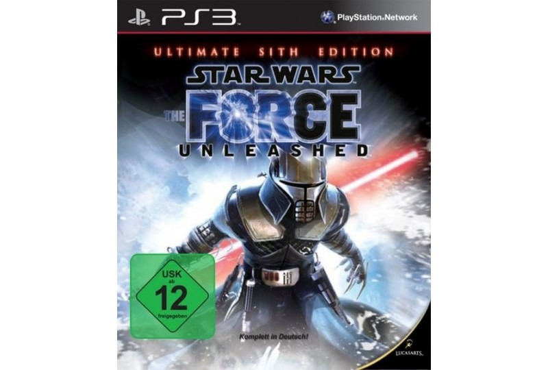 Диск PS3 Star Wars Force Unleashed: Ultimate Sith Edition