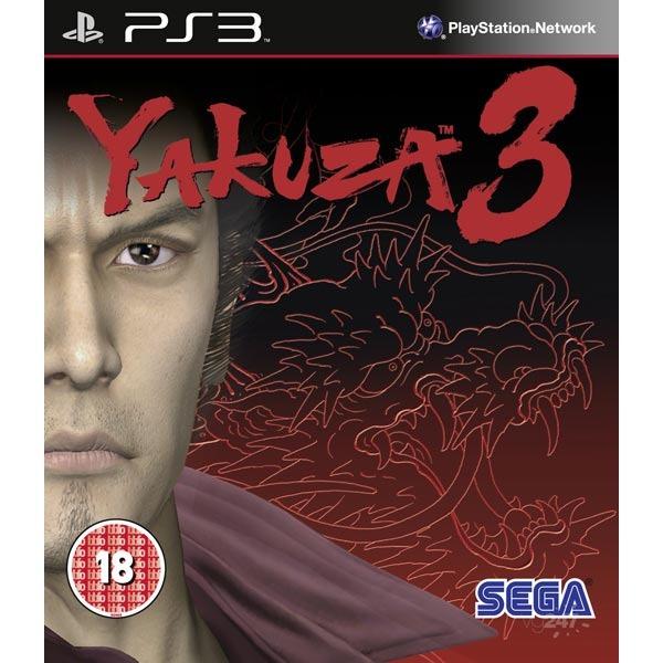 Диск PS3 Yakuza 3