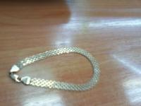 Браслет Золото 585 (14K) вес 6.40 г
