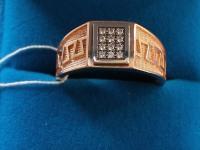 Кольцо  ск Золото 585 (14K) вес 7.50 гр.