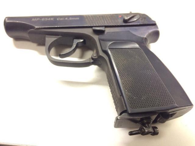 Пневматический пистолет ПМ-654К