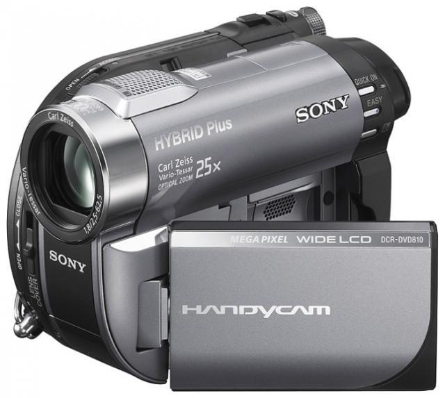 !Видеокамера Sony DCR-DVD810E