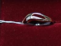 Кольцо ск. Золото 585 (14K) вес 1.60 г