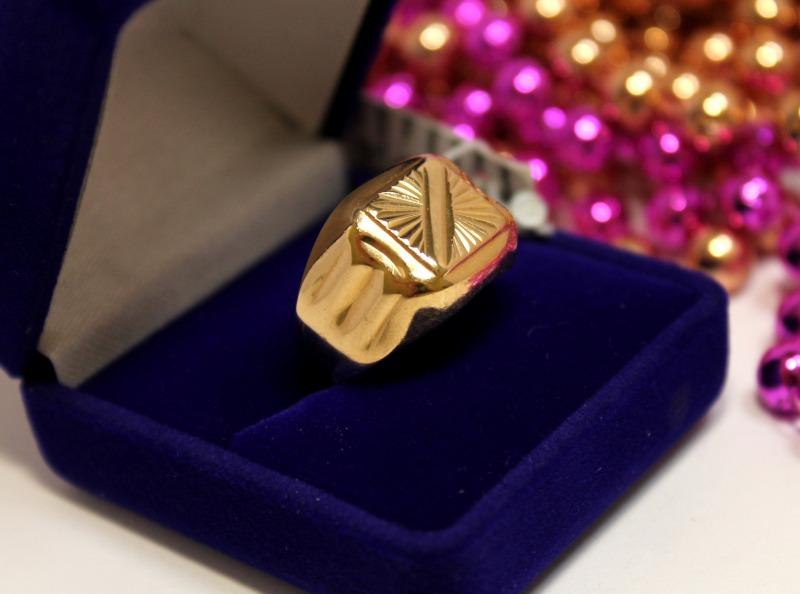 Печатка 3Н1244 Золото 585 (14K) вес 4.79 гр.