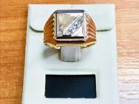 Печатка Золото 585 (14K) вес 4.45 г