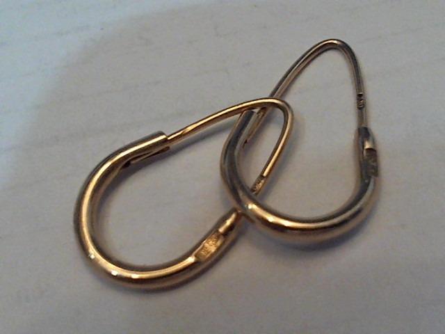Серьги Золото 585 (14K) вес 1.75 г, Ювелирные изделия, Благовещенск 1f84aa1bf86