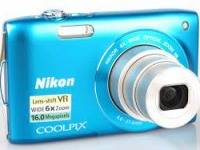 Nikon S3000 blue