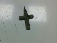 Крест нательный 19 век ааленький
