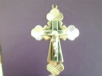 Крест Золото 585(Друг) вес 2.80 г