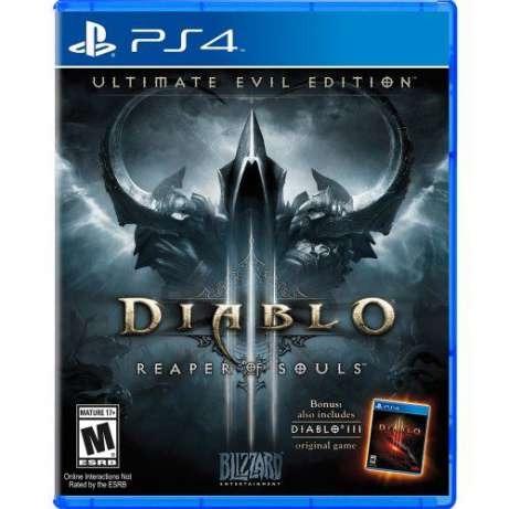 Диск PS4 Diablo