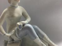 Фарфоровая статуэтка Фигуристка ЛФЗ