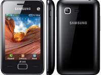 Samsung S 5222 black
