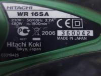 Ударный гайковёрт Hitachi WR 16SA