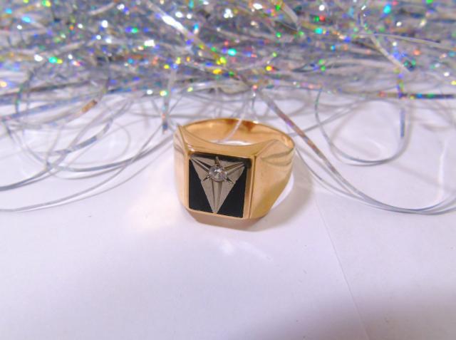 Кольцо С 279 Золото 585 (14K) вес 5.58 гр.