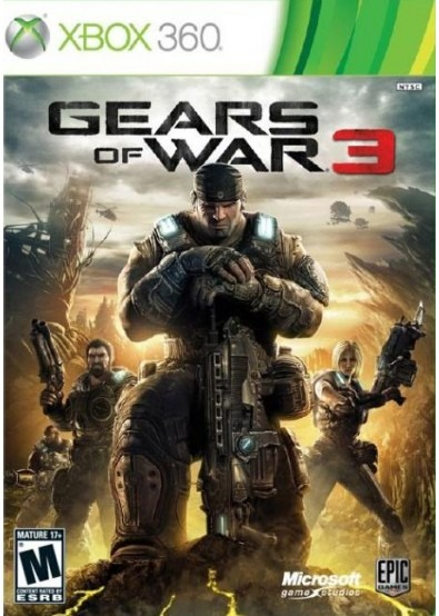 Диск Xbox 360 Gears of War 3