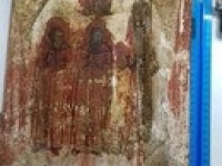 Икона святые мученики в окладе размер 26 на 30