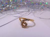 Кольцо С126 Золото 585 (14K) вес 2.54 г