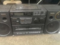 Бумбокс Panasonic RX-DT680 Radio CD Cassette Boombox