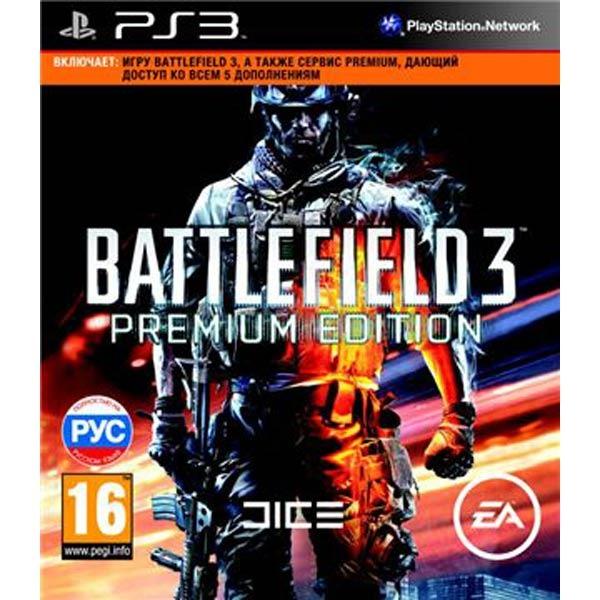 Диск PS3 Battlefield 3 Premium Edition