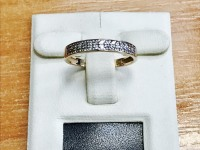 Кольцо  Золото 585 (14K) вес 1.77 г