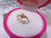 Кольцо 1П 710 Золото 585 (14K) вес 1.55 г