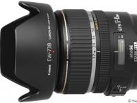Canon EF-S 17-85mm f/4-5.6 + бленда EW-73B