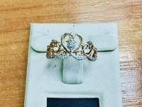 Кольцо Золото 585 (14K) вес 2.15 г