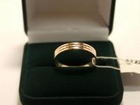 Кольцо 3Н1237 Золото 585 (14K) вес 2.61 гр.