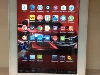 Планшет Prestigio MultiPad 2 PMP7280C (белый), только планшет, царапины по корпусу