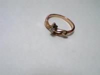 Кольцо Золото 585 (14K) вес 2.25 г