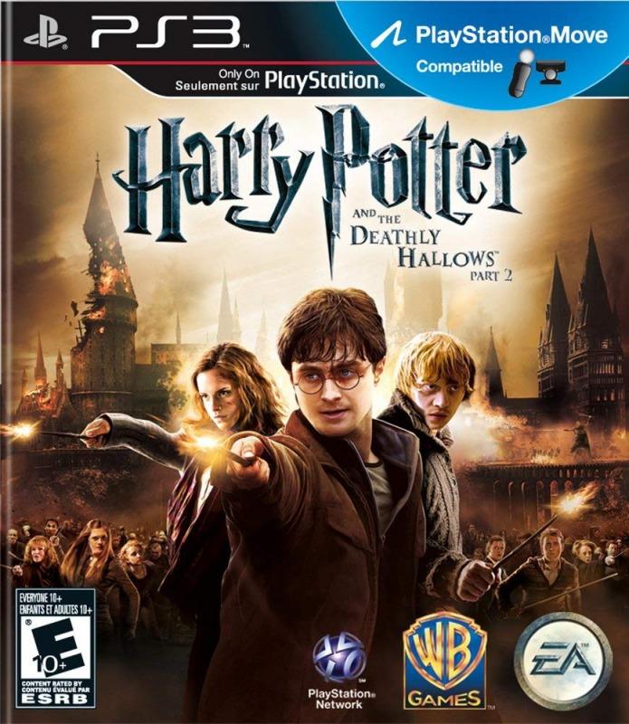 Диск PS3 Гарри Поттер и Дары Смерти. Часть 2