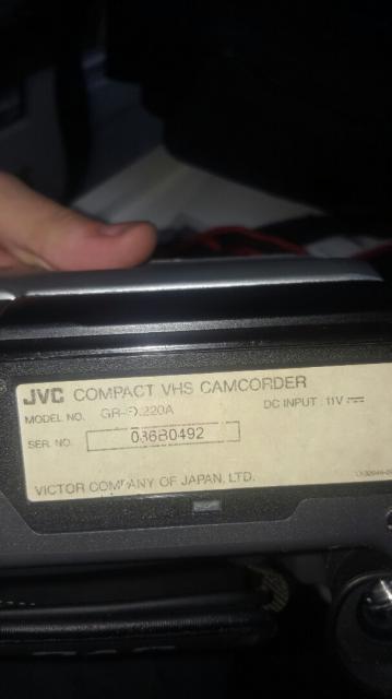 Видеокамера JVC GR-F