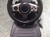 Игровой руль Genius Trio Racer F1