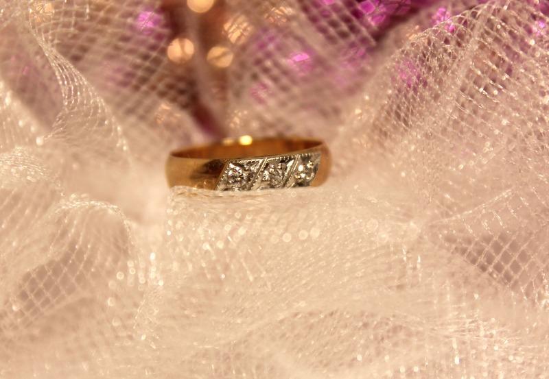 Кольцо 3Н1101 Золото 585 (14K) вес 2.42 гр.