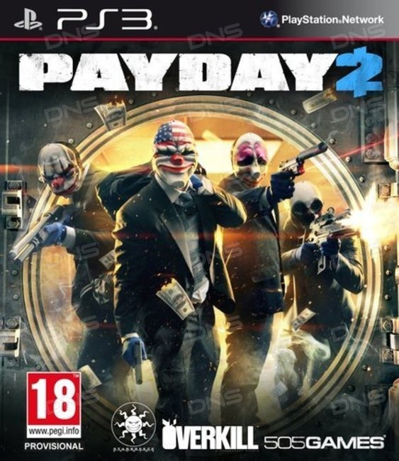 Диск PS3 PAYDAY 2