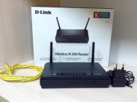 Роутер D-link DIR-615/K2 В коробке блок питания, сетевой кабель, рук-во