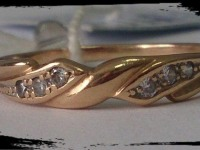 Кольцо Золото 585 (14K) вес 1.83 гр.