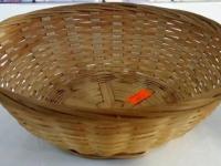 Хлебница плетеная кругл