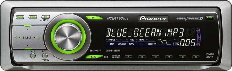 Pioneer deh p4850mp